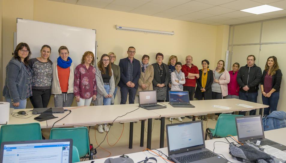 Els cursos estan subvencionats pel Servei d'Ocupació de Catalunya (SOC).