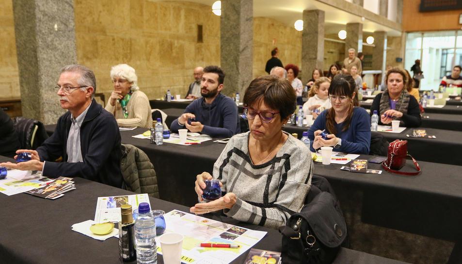 Una cinquantena de persones van participar a l'esdeveniment.