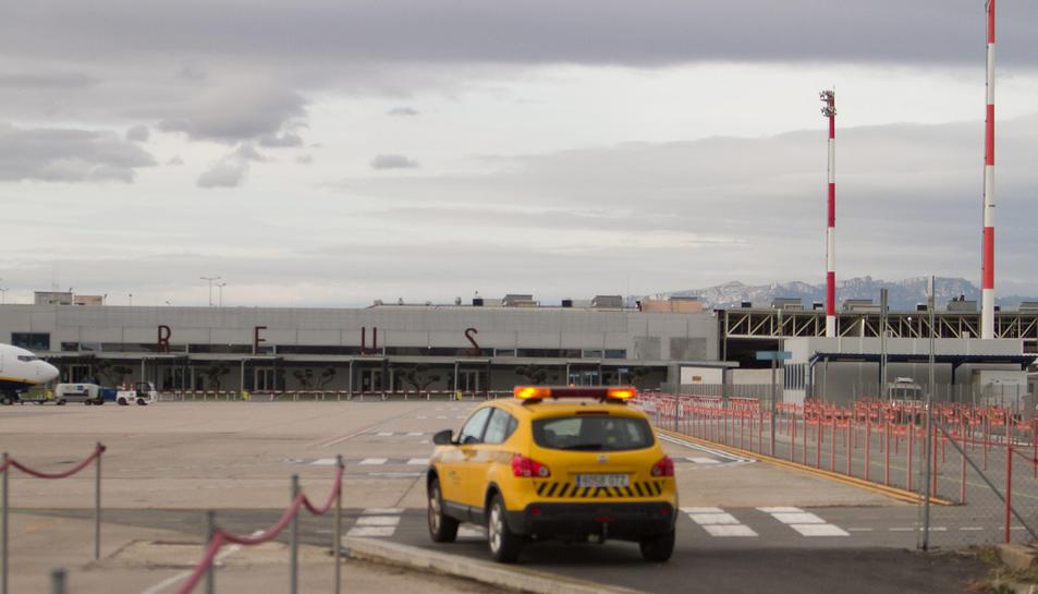 Imatge d'arxiu de les pistes de l'aeroport de Reus.