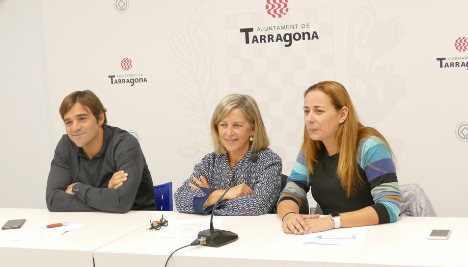 Dídac Nadal, Elvira Vidal, Cristina Guzmán, junts per tarragona, política