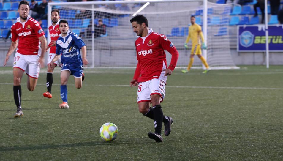 Pereira va marcar el seu primer gol grana la jornada passada.