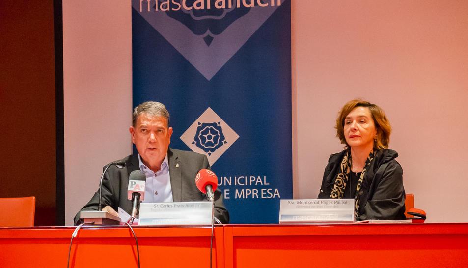 Carles Prats i Montse Pagès van desgranar ahir un informe.