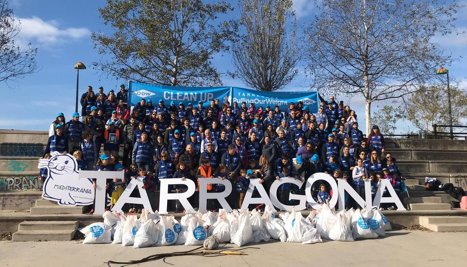 Jornada Clean Up Day organizada por Dow Chemical