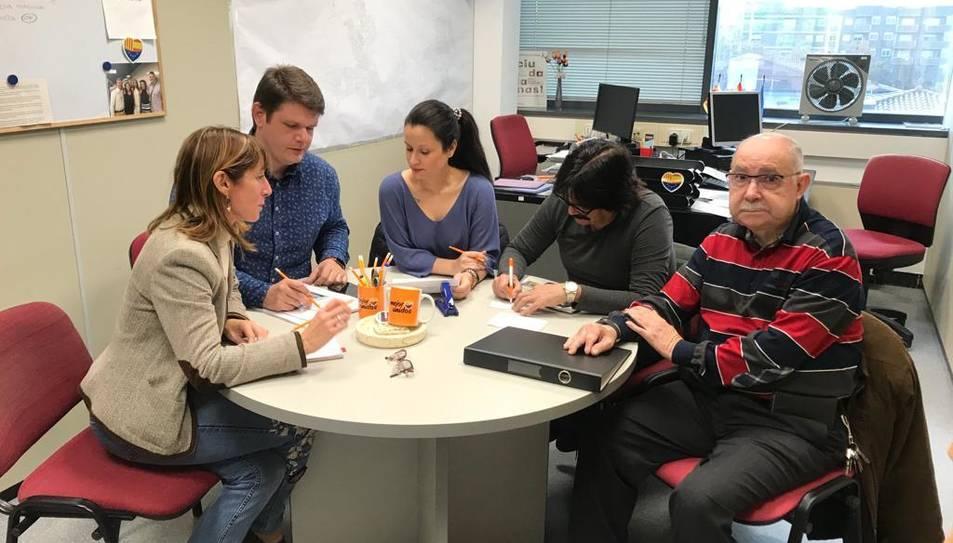 Imatge de l'equip de govern de Ciutadans a Cambrils