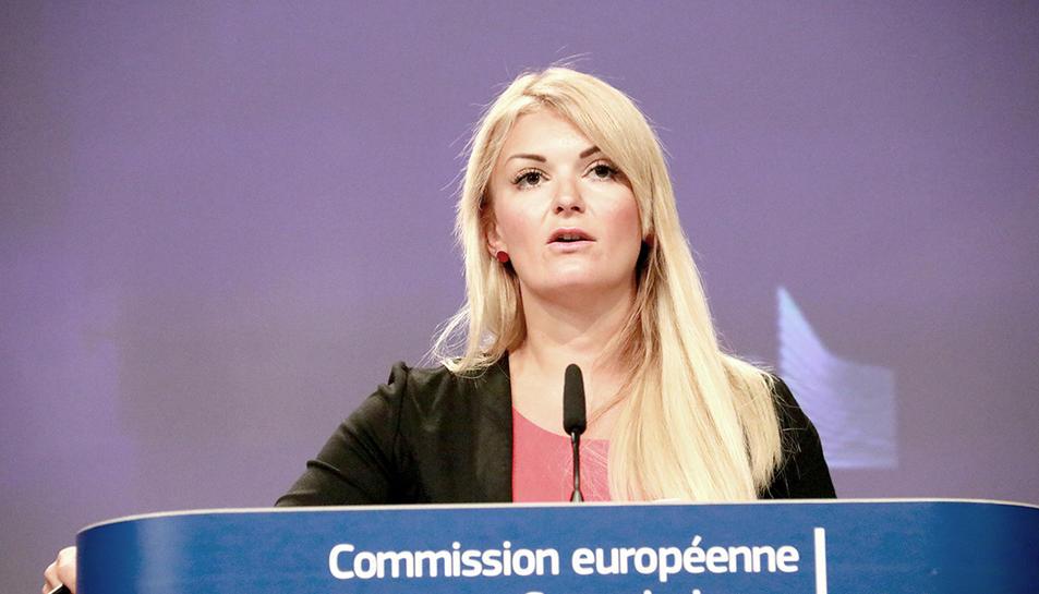 Mina Andreeva, portaveu de la Comissió Europea.