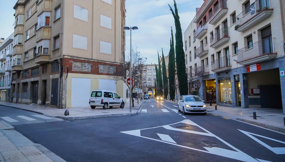 Amb aquesta intervenció, l'Ajuntament pensa garantir l'accés de cotxes al pàrquing del Simonet.
