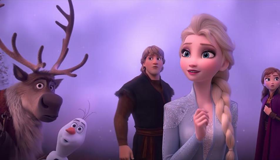 Instant de la nova pel·licula de Frozen