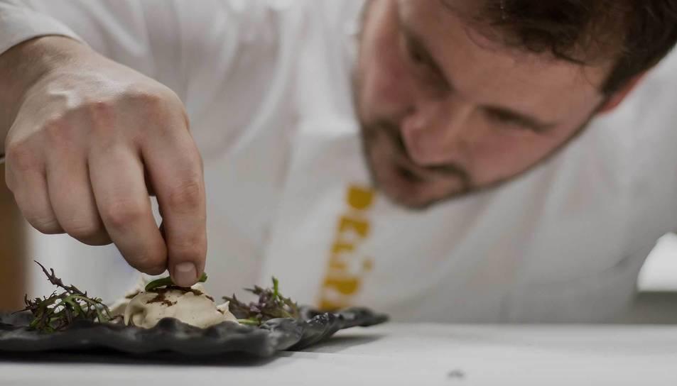 Imatge del xef Josep Moreno al restaurant Deliranto de Salou