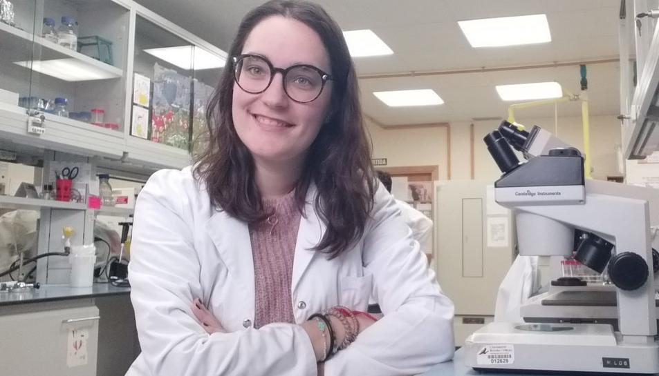La investigadora Ana Hernández ha participat en la recerca.