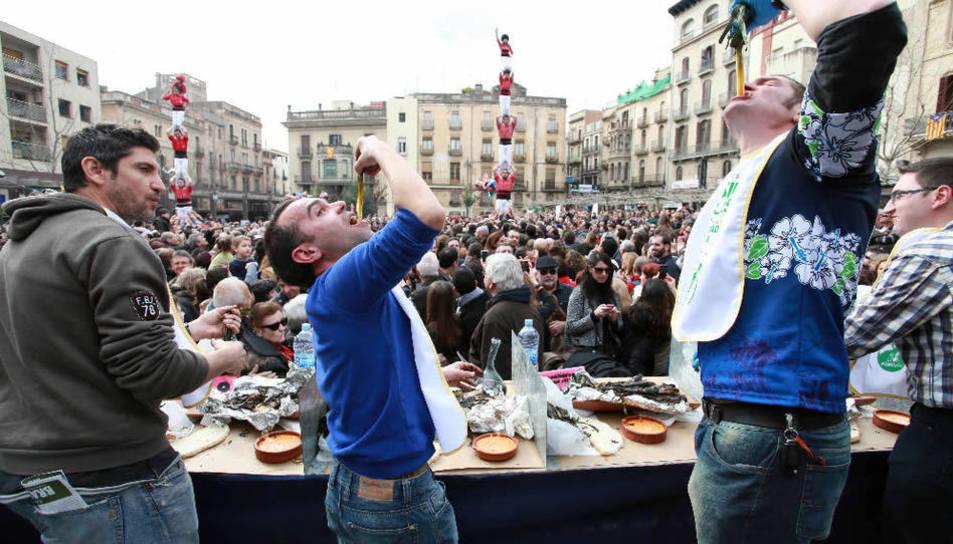 Imatge d'arxiu de La Gran Festa de la Calçotada de Valls