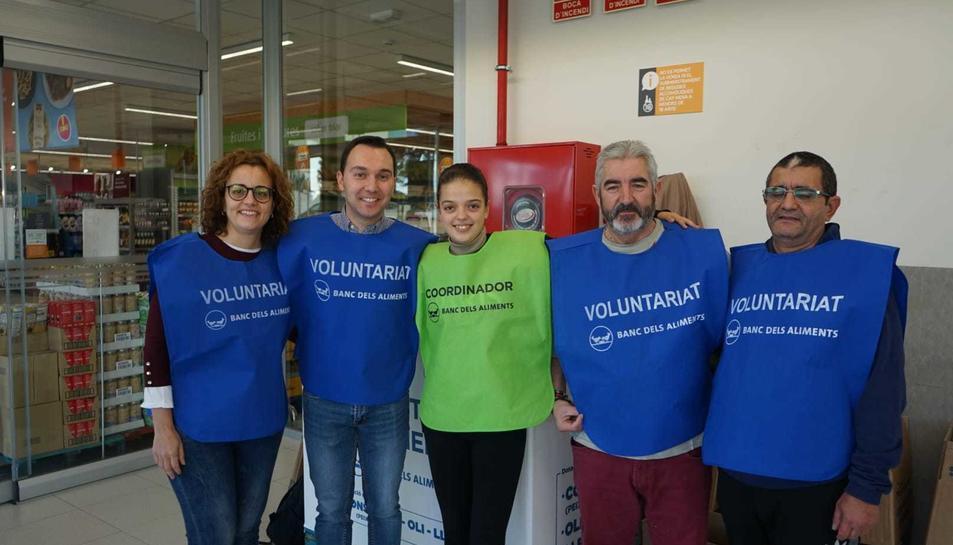 Imatge d'un grup de voluntaris.