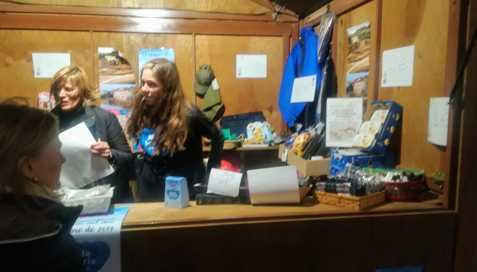 La botiga Nostrum de Reus va participar en la recollida de fons.