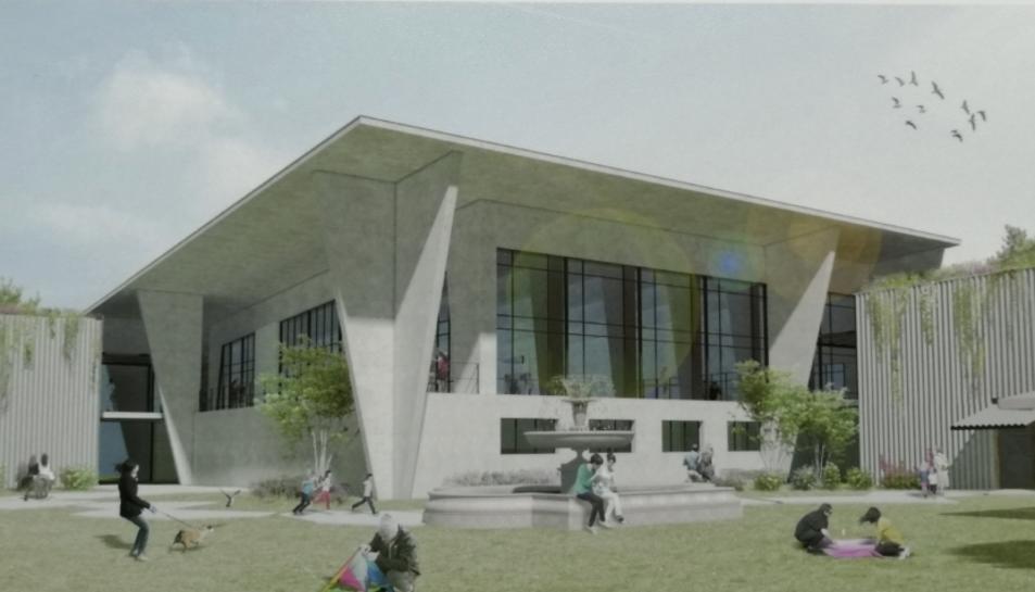 Imatge del projecte  com quedarà l'edifici des