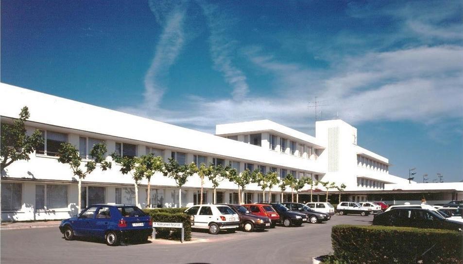 Imatge de l'Hospital de Móra d'Ebre.