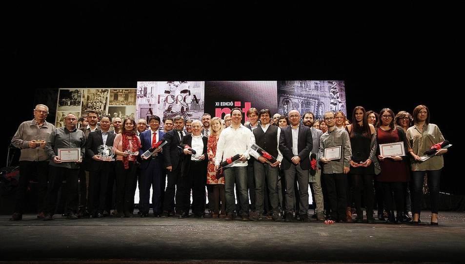 Imatge d'una edició passada de la Nit de Castells de Valls