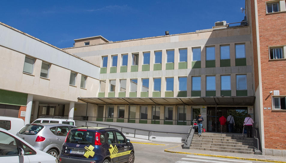 Una imatge d'arxiu de la façana del CUAP Sant Pere.