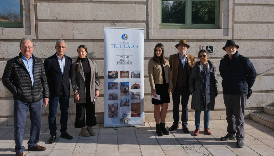Imatge de les guanyadores dels premis de recerca Trencadís