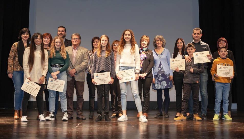 Imatge dels premiats