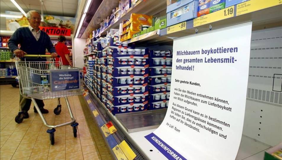 Imatge d'arxiu d'un supermercat de Lidl