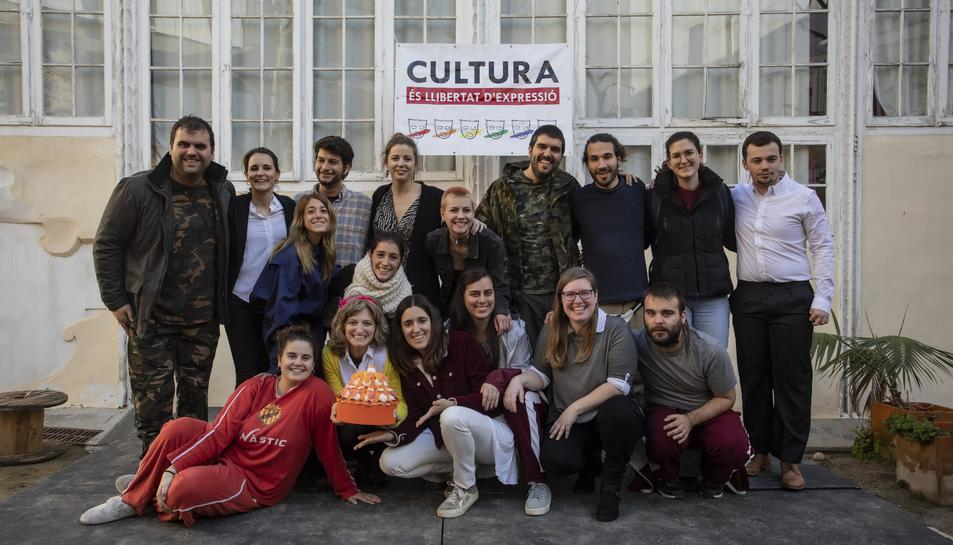 Imatge d'alguns dels membres de Tornavís Teatre.