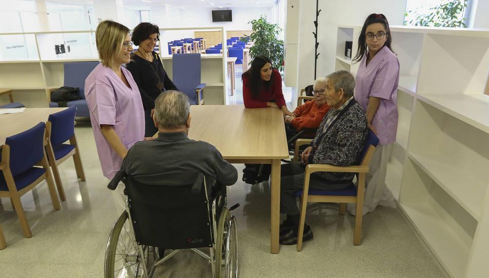 Vuit residents van instal·lar-se ahir als seus llits i es preveu que a mitjans de gener ja en siguin 29.