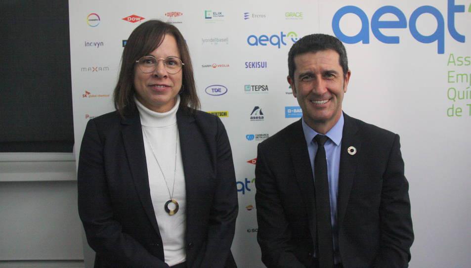 Rubén Folgado, presidente de la Asociación Empresarial Química.