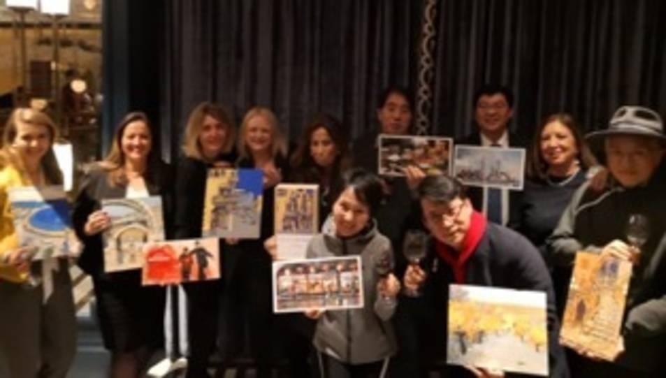 Imatge de la presentació a Shanghai