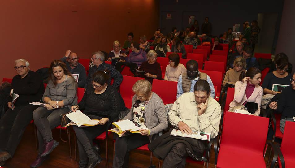 Persones que van assistir a l'audiència pública el passat dimarts