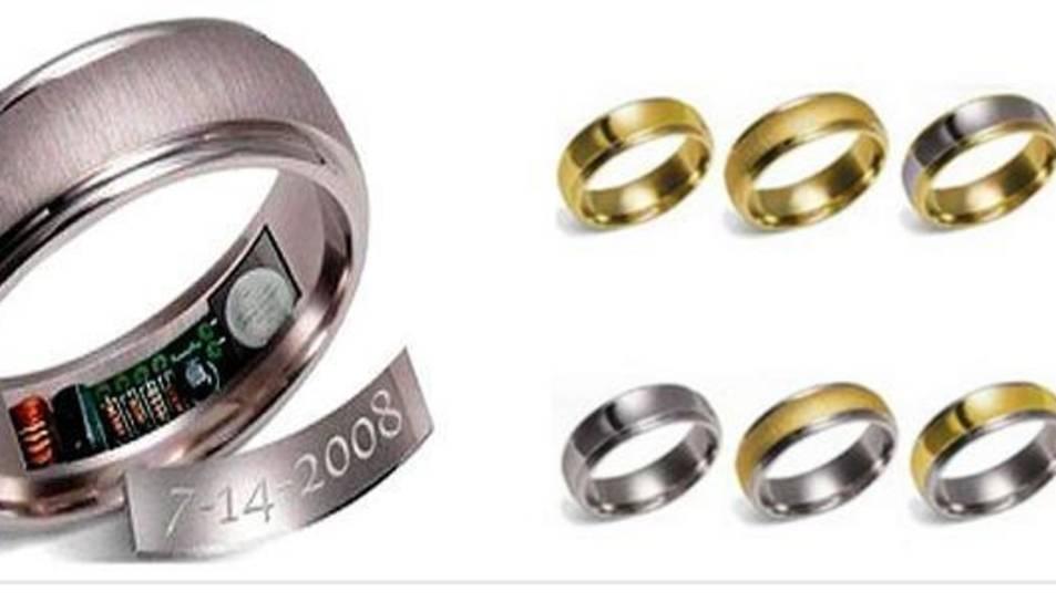 Imatge dels anells amb GPS