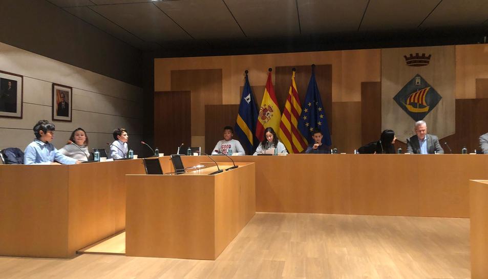Imatge de l'acte de Consitució del Consell Municipal d'Infància