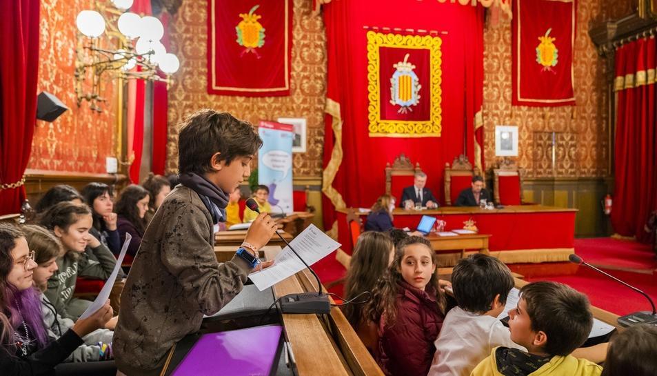 El Consell Municipal d'Infants celebra la primera sesión del curso 2019-2020