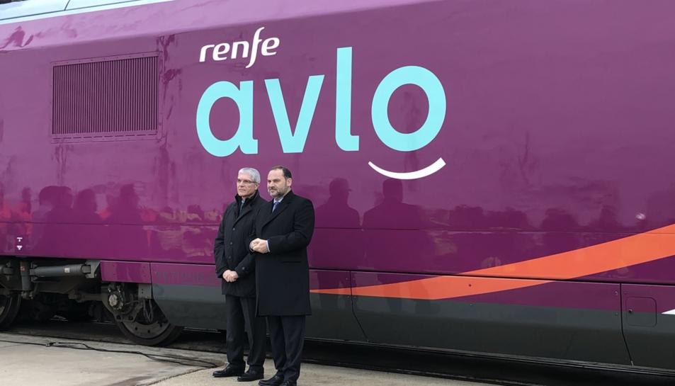 Imatge de la presentació d'«AVLO»