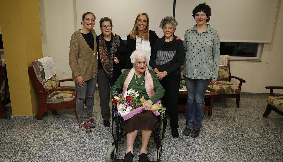 L'homenatge a Ezequiela Roset es va fer el passat dilluns.