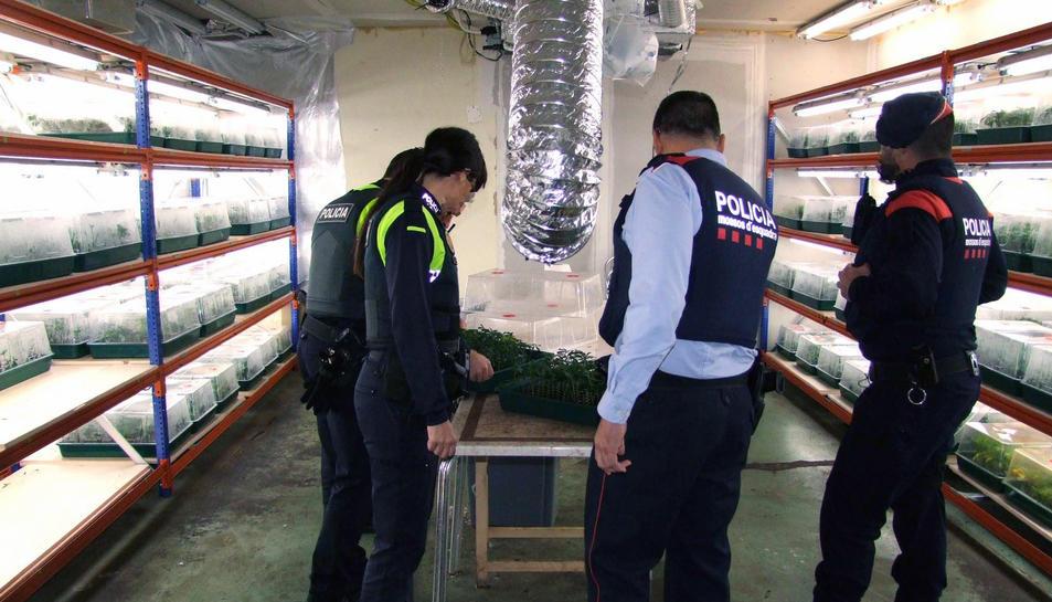 Els Mossos no descarten detencions durant els propers dies.