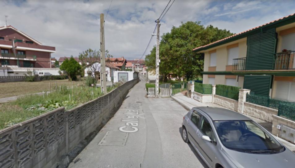 Imatge del carrer on han tingut lloc els fets