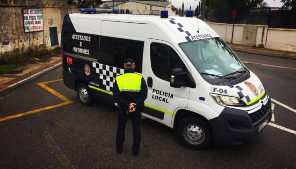 Imatge d'arxiu d'una patrulla de la policia de Granada