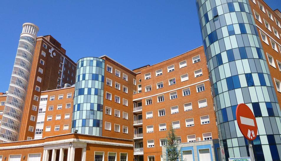 Imatge d'arxiu de l'hospital de Cruces-Barakaldo.