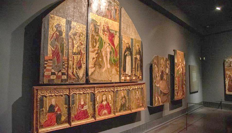 Una de les obres del Museu Diocesà de Lleida en litigii.