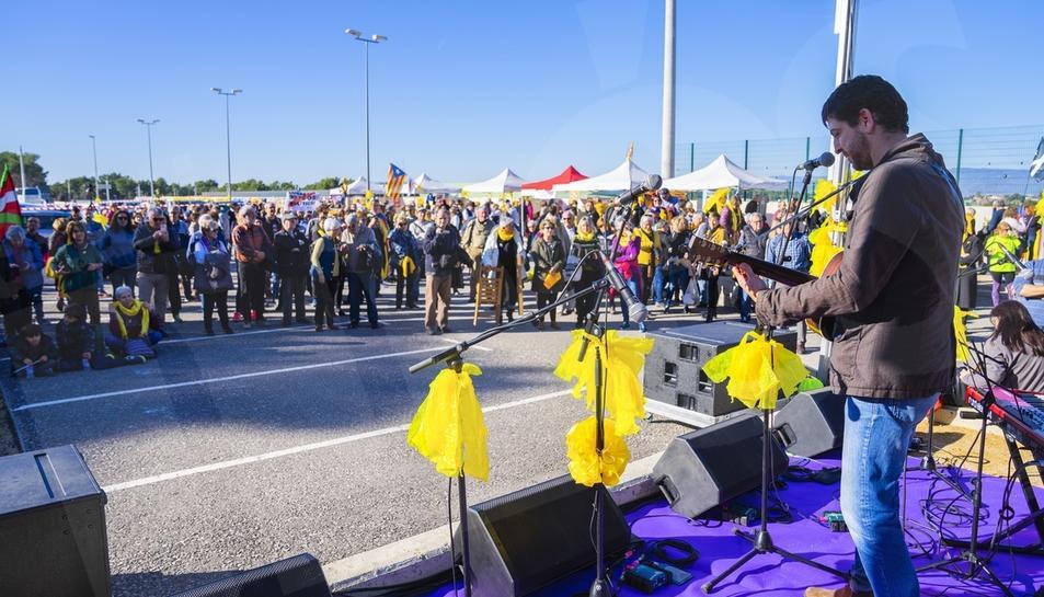 Pengem l'Estel a Mas d?Enric, acte organitzat per l'ANC