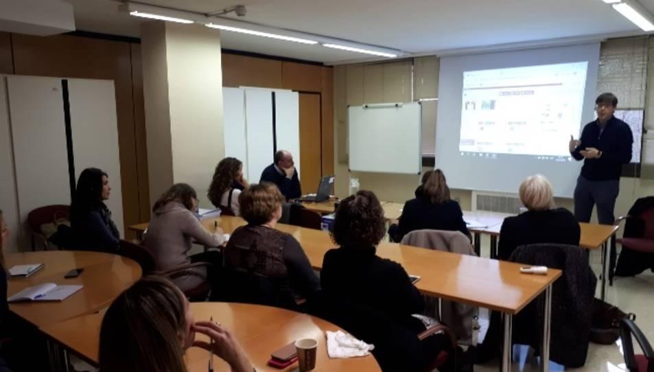 Imatge de la presentació a Tarragona