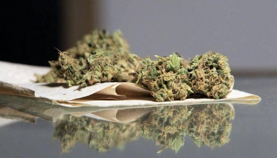 Imatge d'arxiu de cànnabis