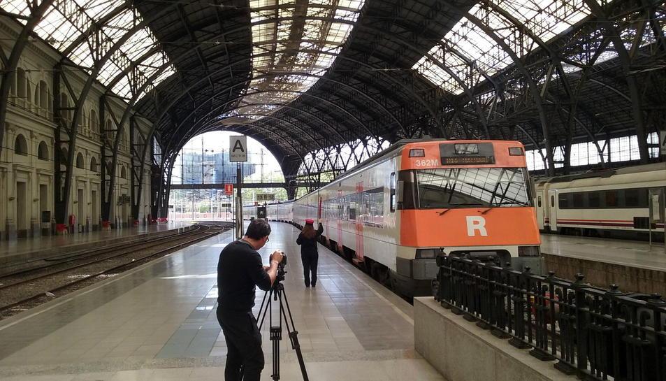 Imatge de l'estació de França de Barcelona.