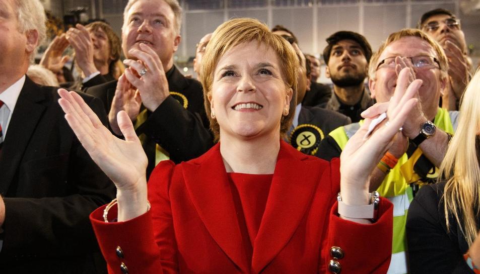 La ministra principal d'Escòcia, Nicola Sturgeon.