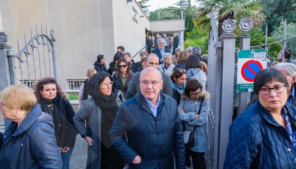 Funeral mare Sergi Roberto