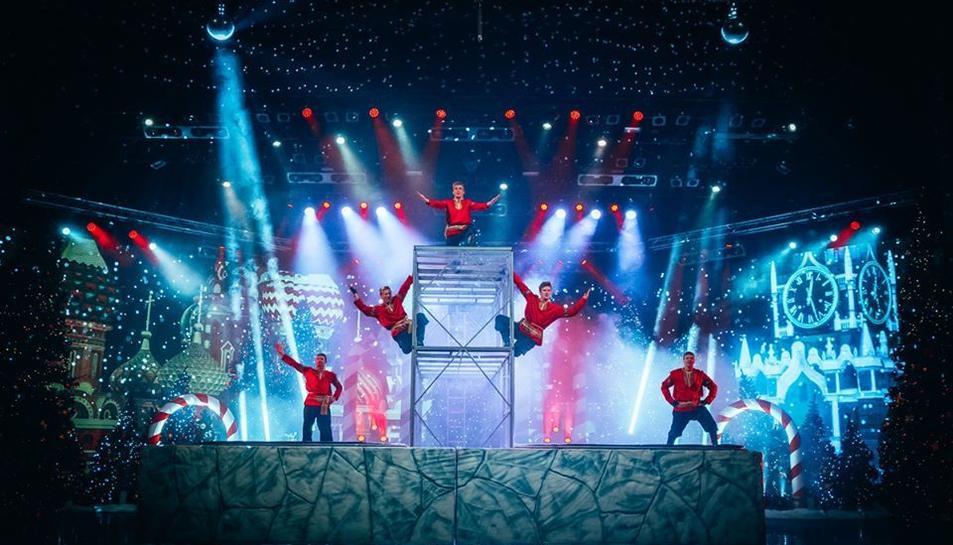Imatge d'un dels espectacles de Nadal de PortAventura.
