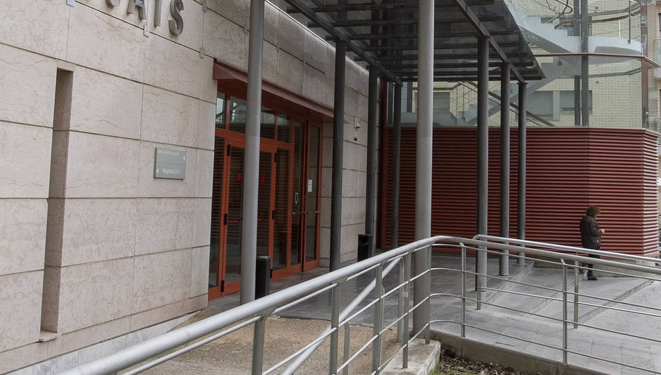 Una imatge d'arxiu de l'edifici dels Jutjats de Reus.