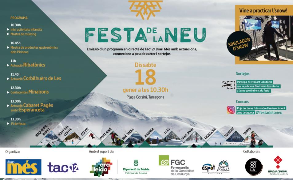 La Festa de la Neu presenta les novetats de la temporada d'esquí 2020.