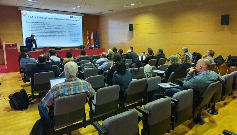 Imatge de la primera reunió del consorci del projecte.