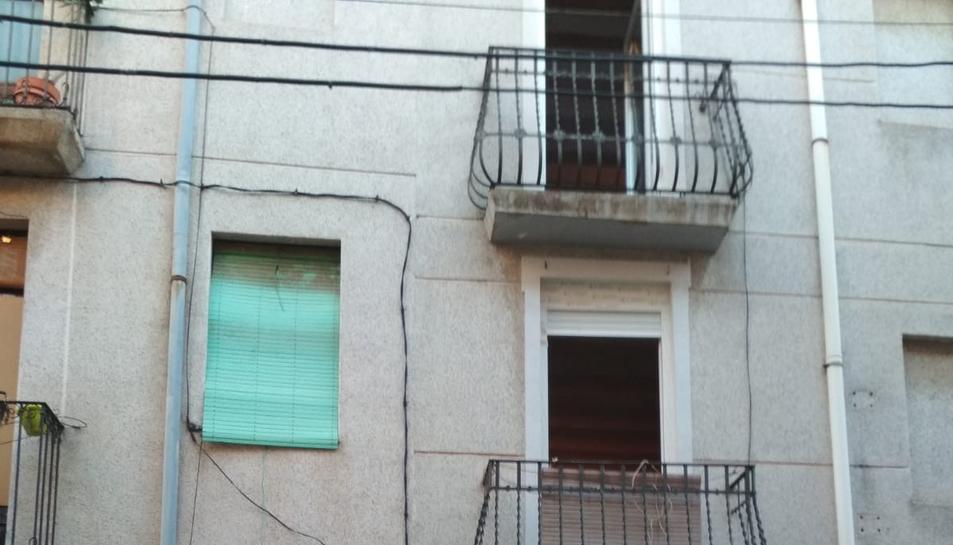 Imatge de l'edifici afectat.