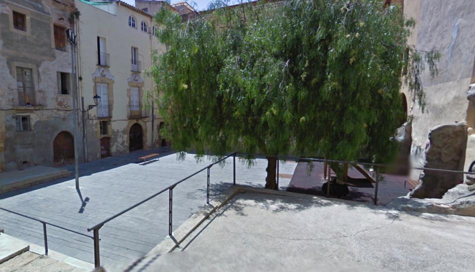 La detenció es va produir a la plaça dels Natzarens de la Part Alta.